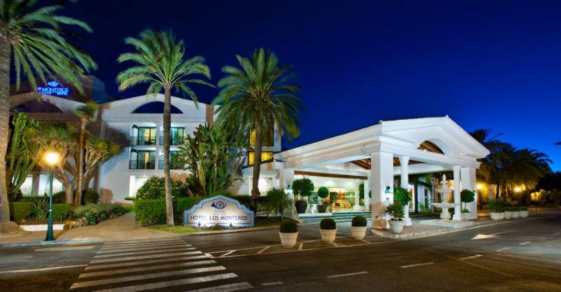 Facahda principal Hotel Los Monteros