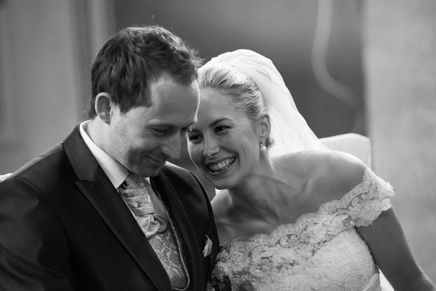 Beispiel: In der Kirche, Foto: Hochzeitsfotografie Thomas Göbert