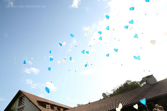 Luftballons steigen lassen, Foto: Agentur Yourhappyday