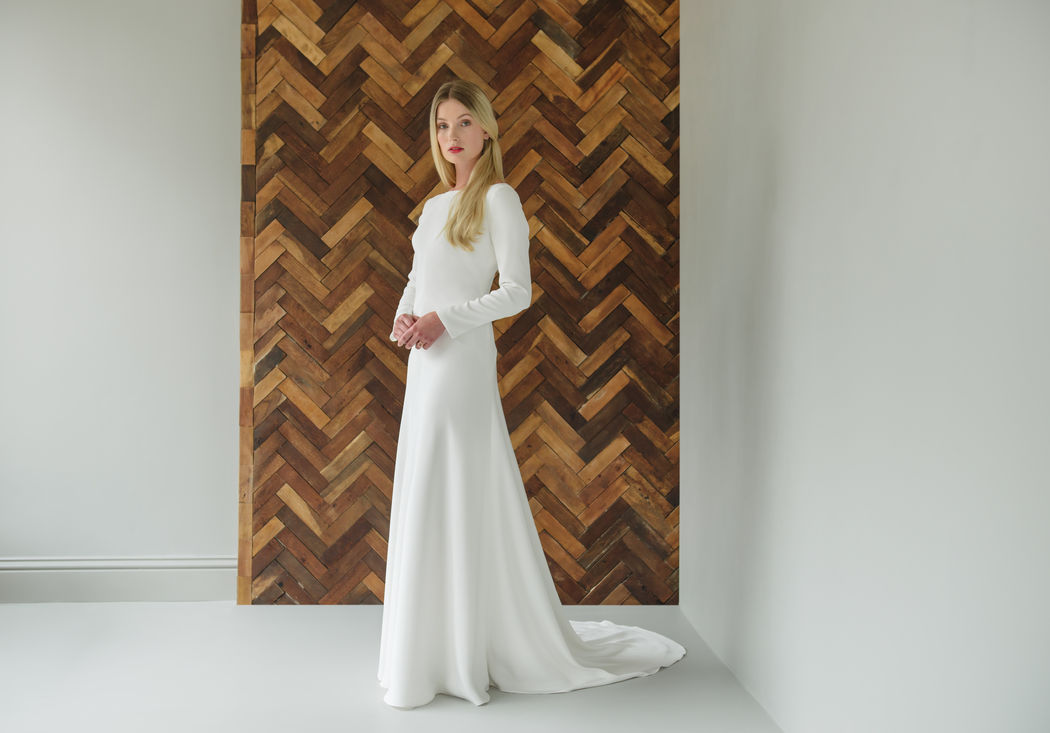 fe58ecf8e069 Gorgeous long sleeve wedding dresses for those cold winter months!