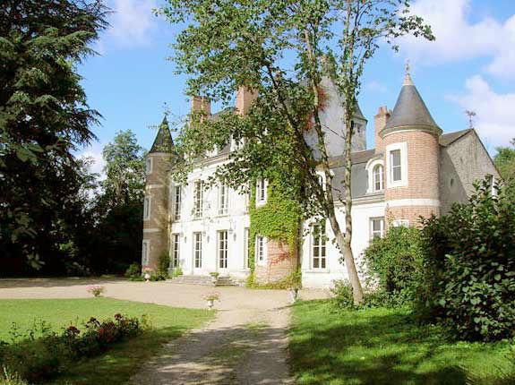 site d'envol château de la Vicomté