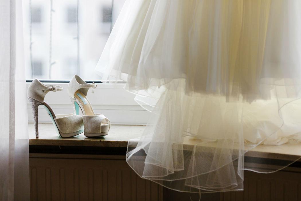 Beispiel: Brautkleid, Foto: Anna Eiswert.