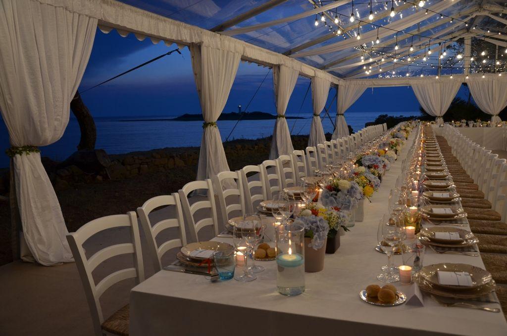 Reception Dinner on the sea
