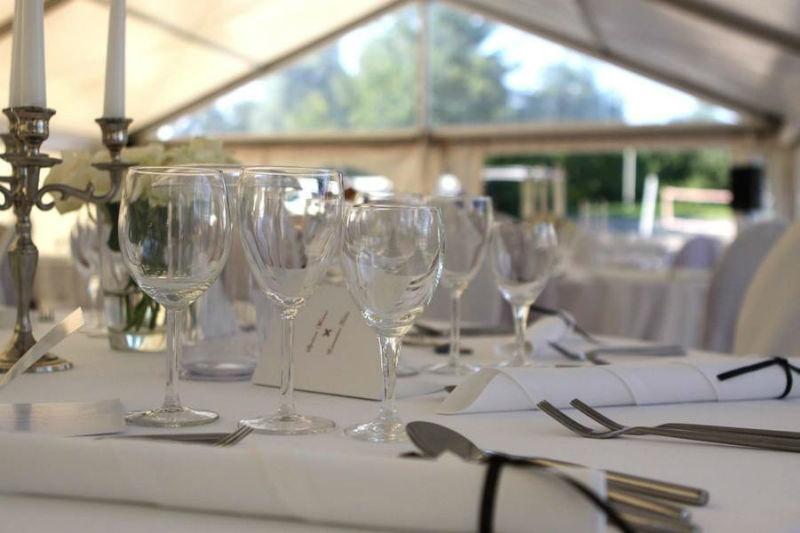 Beispiel: Ihr professionelles Hochzeitscatering, Foto: Golden Catering.