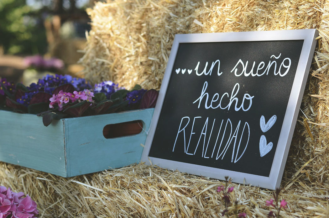 Detalles de boda en Finca El Albero