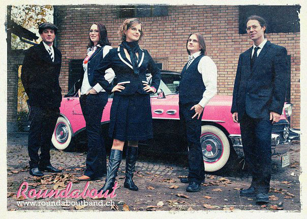 Beispiel: Sixties-Coverband, Foto: Roundabout.