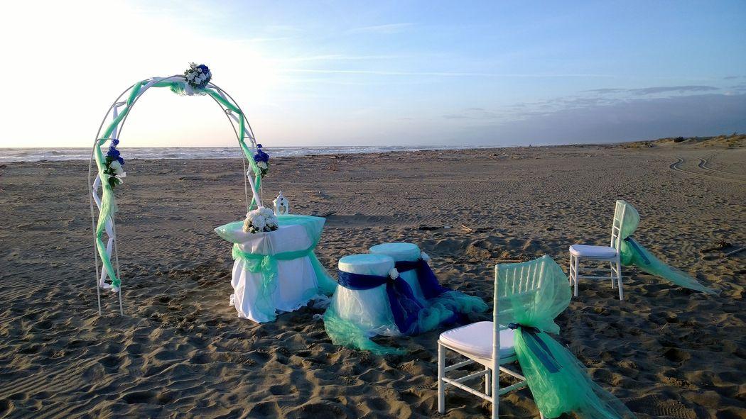 Evento Ideale: Cerimonia in spiaggia