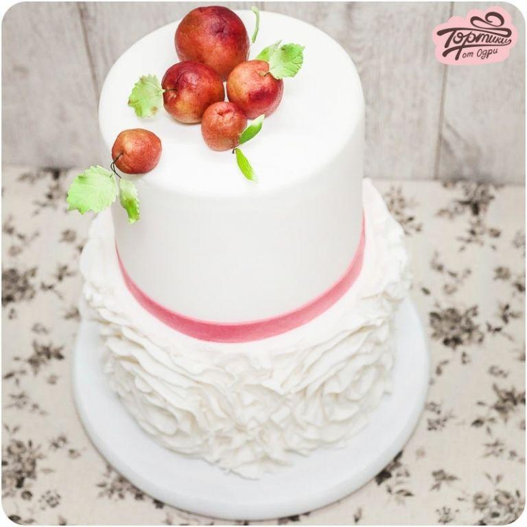 Свадебный торт Яблочки