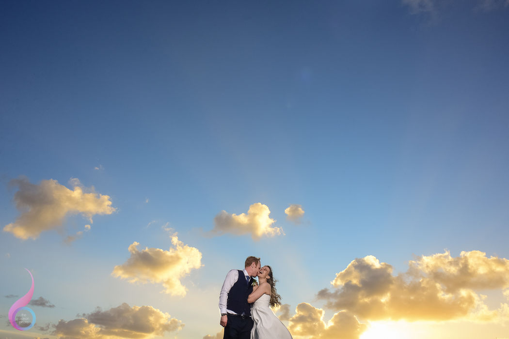 The Ocean Photo Weddings Sunset Wedding Occidental at Xcaret Destination Riviera Maya photographer