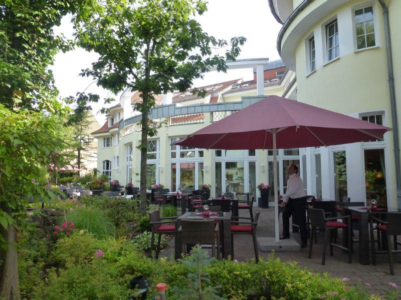 Beispiel: Sonnenterrasse, Foto: Landhaus Alpinia.