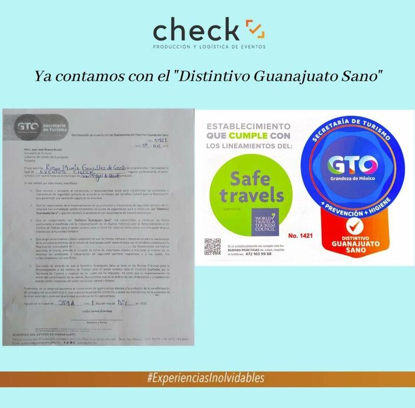 Check Eventos Operador Turistico