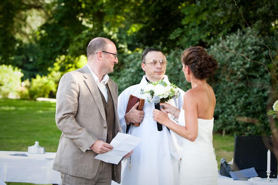 L'officiant de cérémonie
