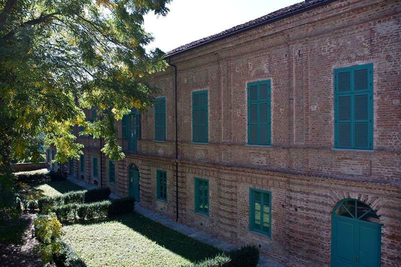 Villa Bria - Esterno Galleria del Settecento