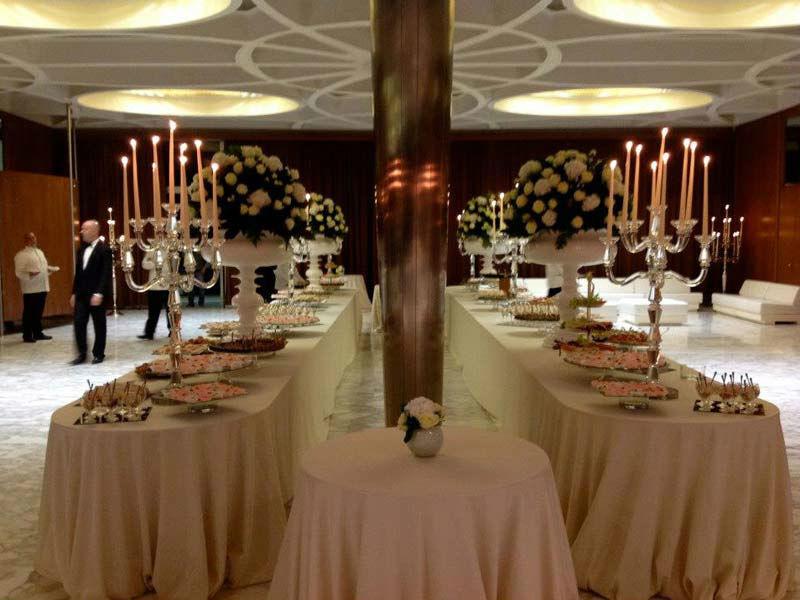 Beispiel: Das Essen für Ihre Hochzeit, Foto: Mario's Catering.