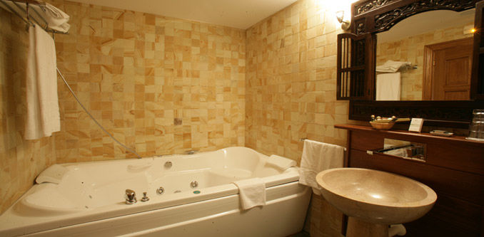 detalle baño habitación