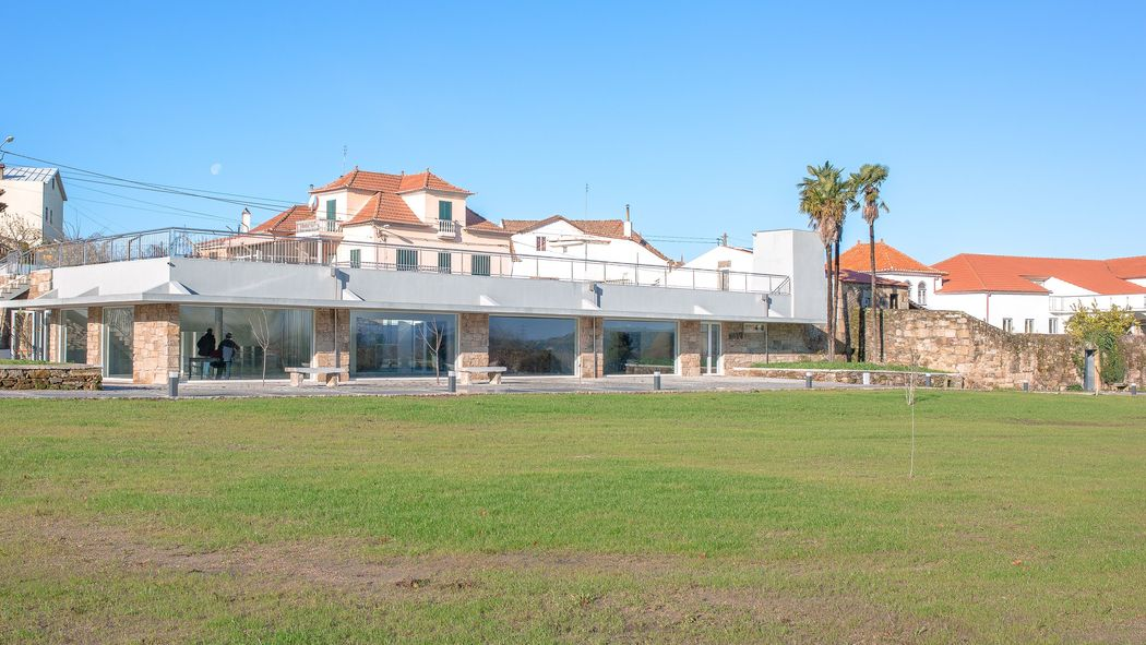 Vista exterior do Salão de festa