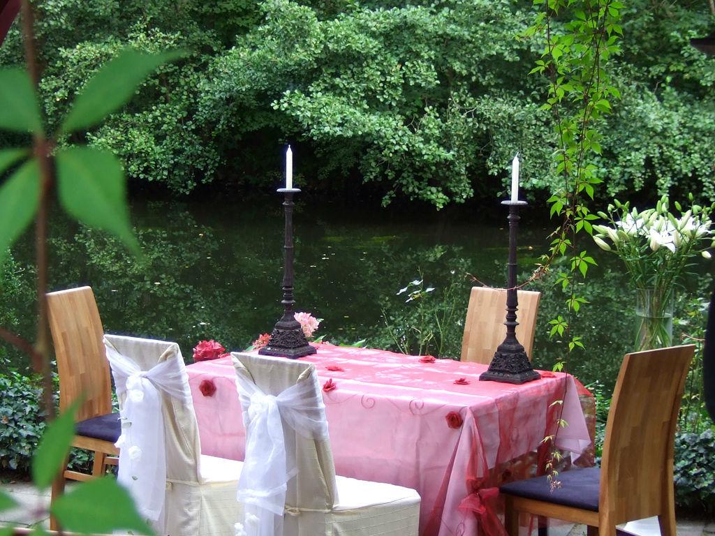Beispiel: Trautisch, Foto: Restaurant Alsterpark.