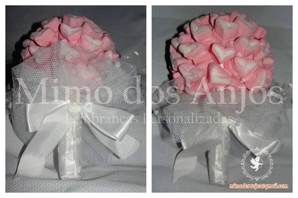 Bouquet de Marshmallow Mimo dos Anjos.