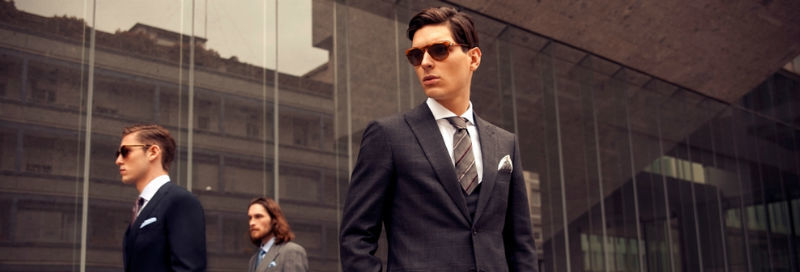 Beispiel: Fashion nach Maß für Männer, Foto: Amerano.