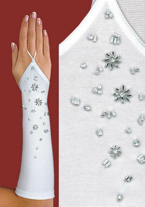 Beispiel: Handschuhe, Foto: Brautmode-VIP.