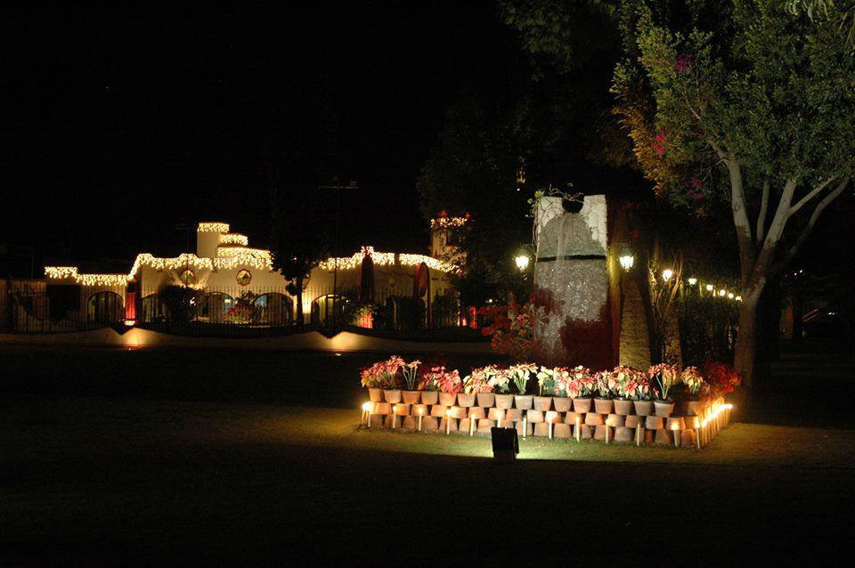 Jardines, Hacienda San José Actipan, Cholula,Puebla.