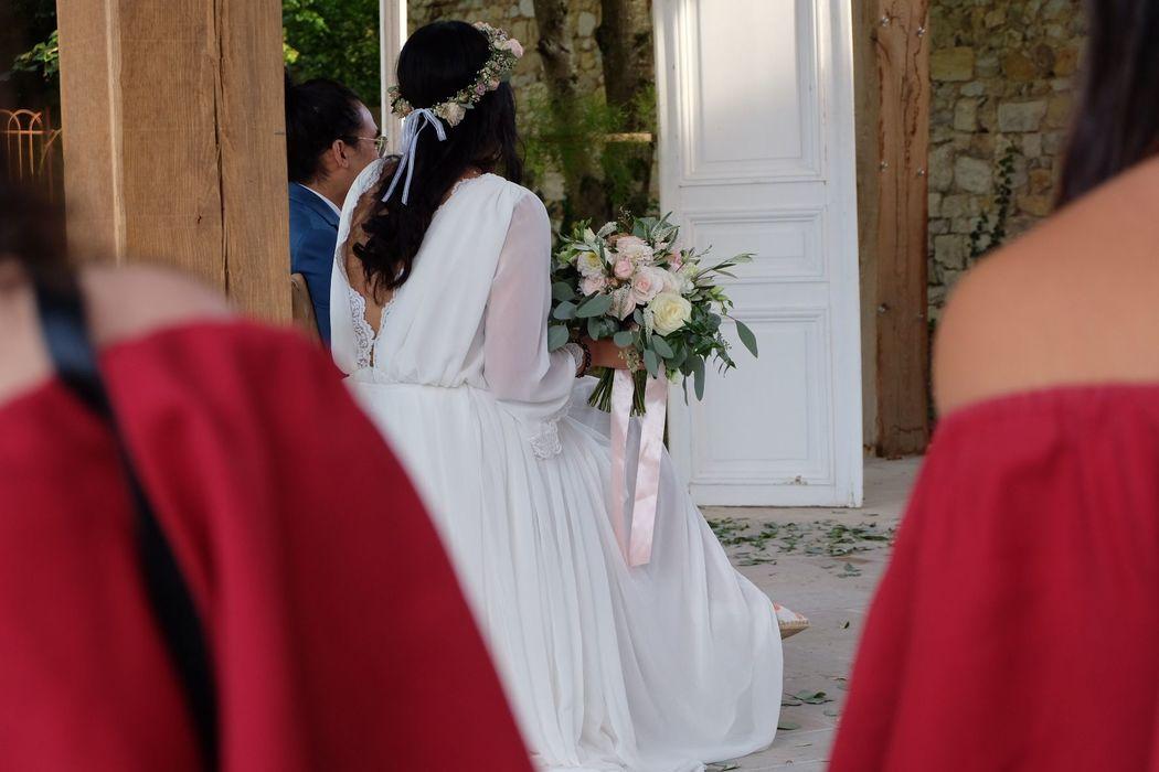mariée - cérémonie