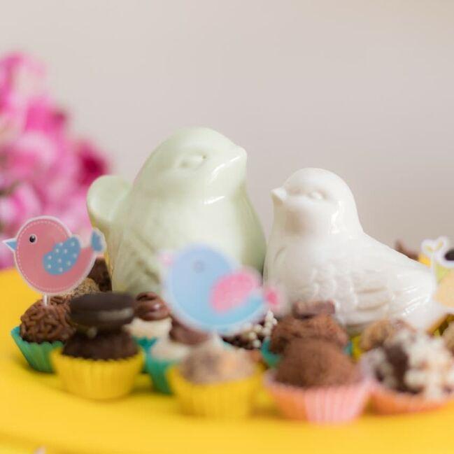 Chá de Bonecas Doces e Cupcakes