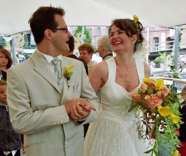 Beispiel: Stilvoll heiraten, Foto: Sabine Zimmermann.