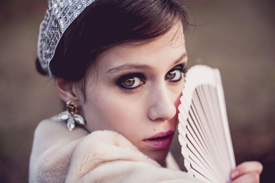 Maquillaje -años 20. Patricia Gomzález - Peyn'Arte