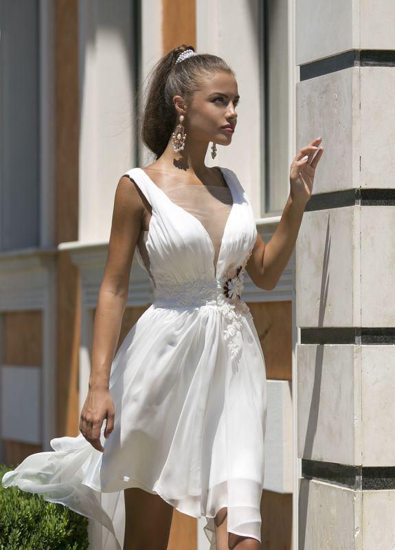 Abito da sposa modello Damaris, collezione Romantica