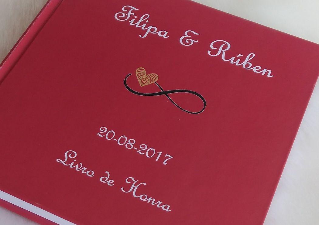 Livro de Honra - Casamento