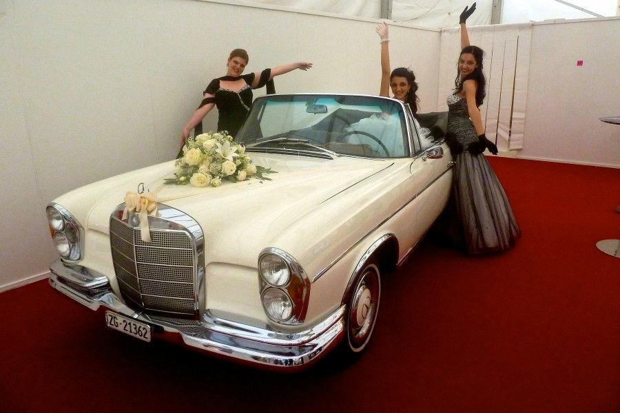 Beispiel: Die elegante Variante, Foto: Die Hochzeitsfahrt.