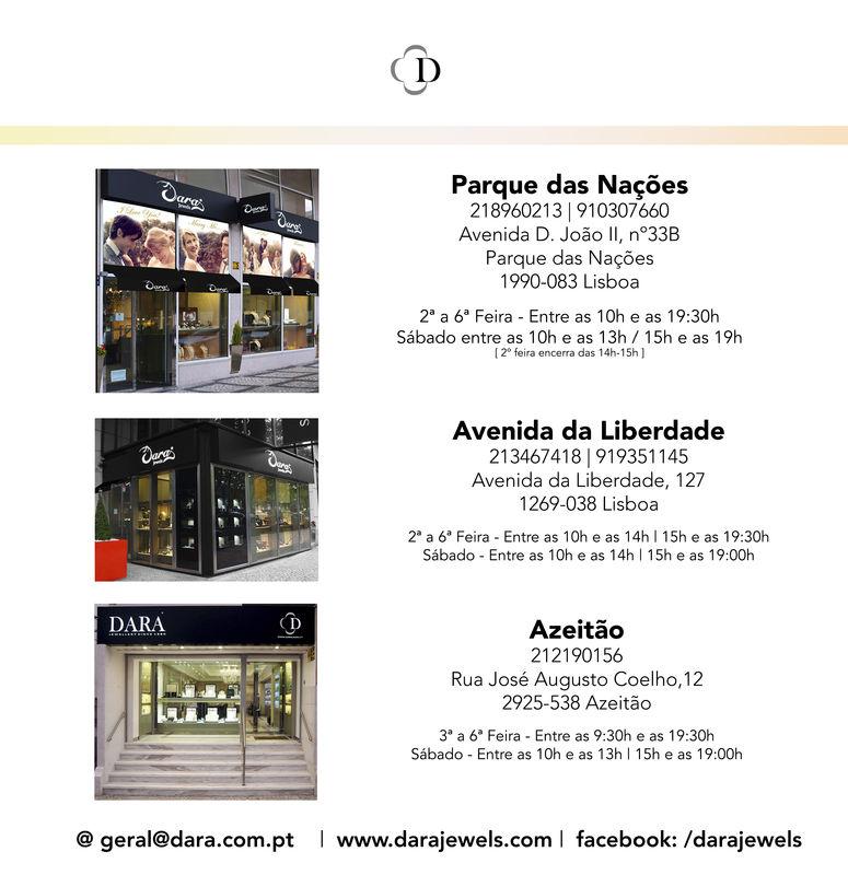Lojas / Moradas / horários