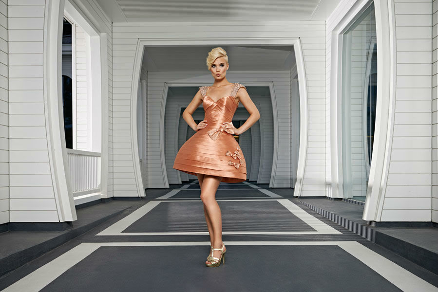 Beispiel: Cocktailkleider, Foto: Mery's Couture Abendmode.