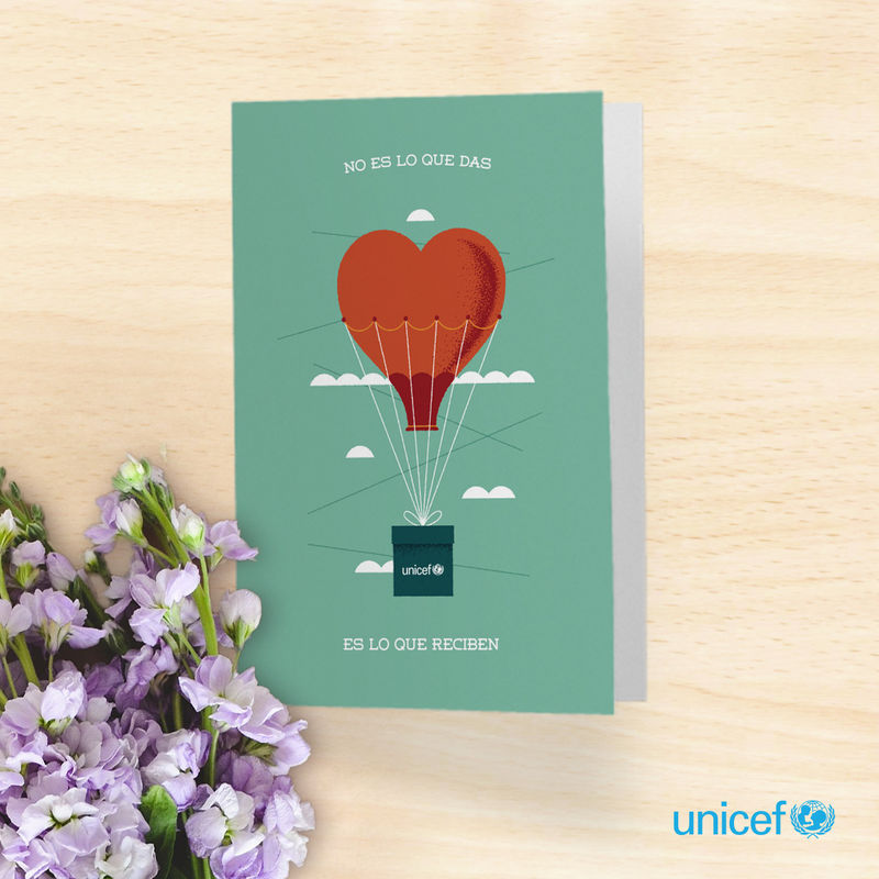 UNICEF - El detalle perfecto para tus invitados