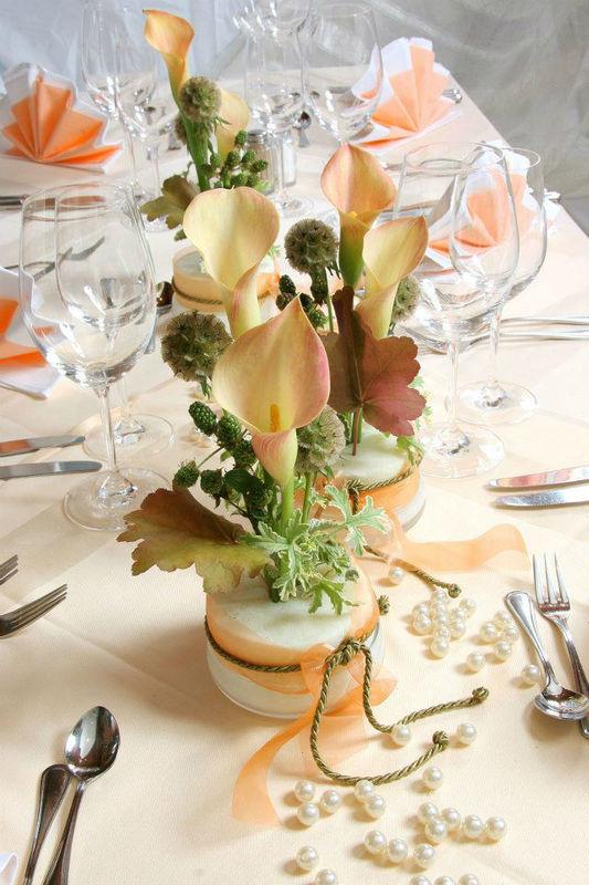 Beispiel: Blumen für Ihre Hochzeitsfeier, Foto: Blumenstube Rath.