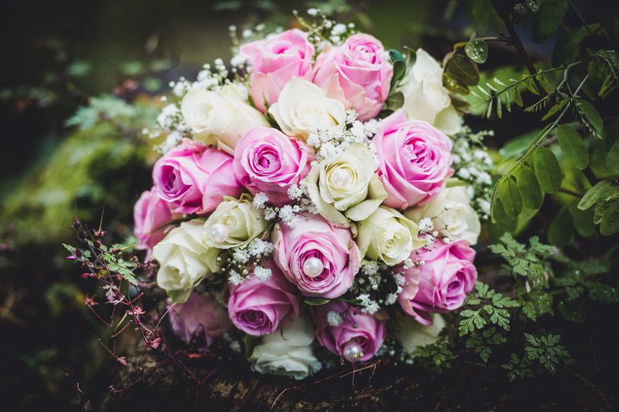 Beispiel: Der Brautstrauss, Foto: Hochzeitsfotografie Thomas Göbert
