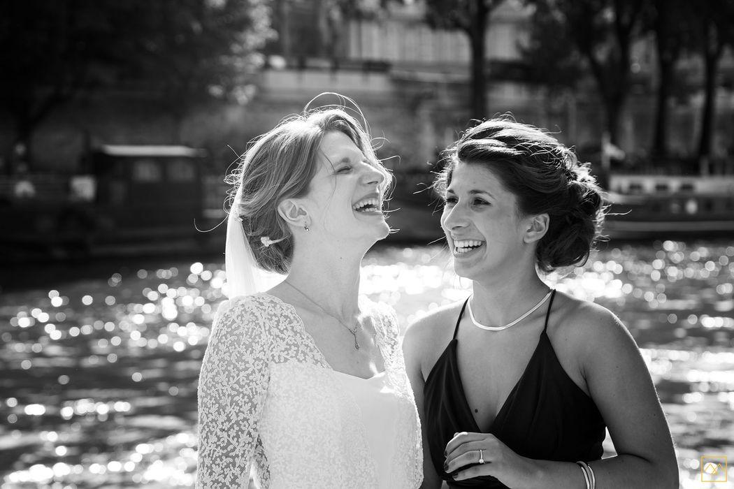 Amédézal® mariage Paris, complicité