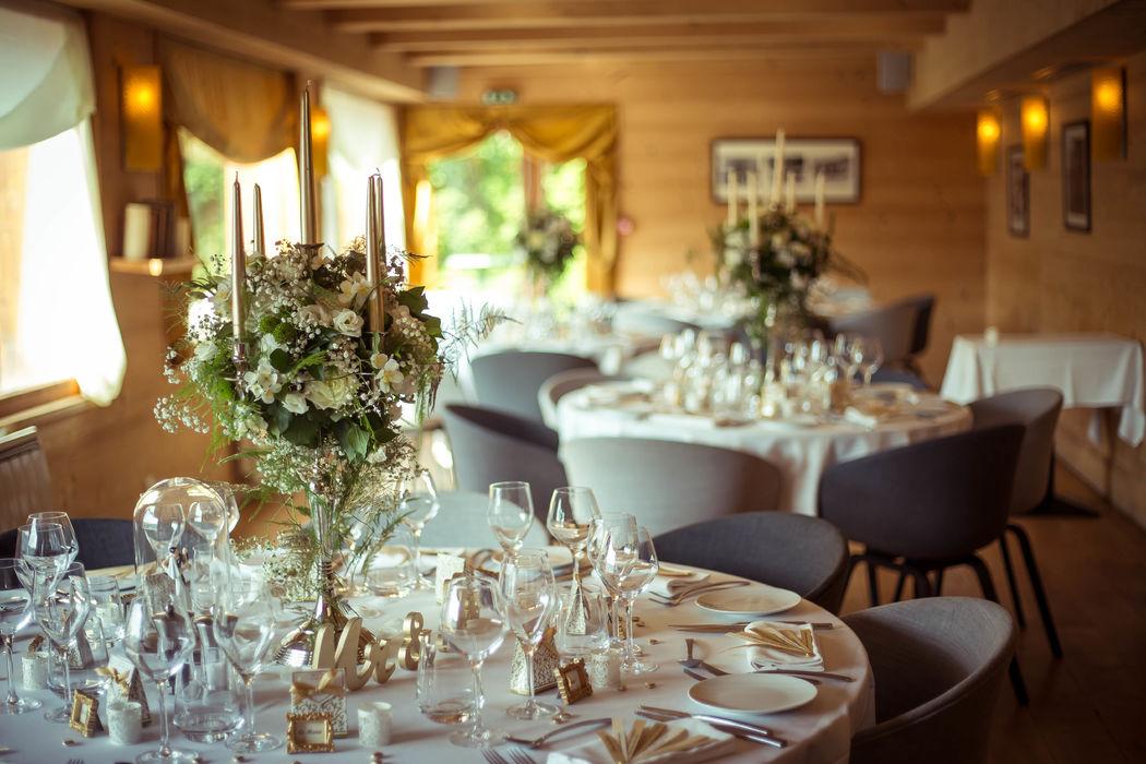 Petite salle de La Table de L'Arboisie