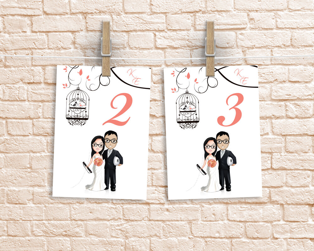 Boda Karina y Elvis Numeradores de mesa www.dannyaldama.com