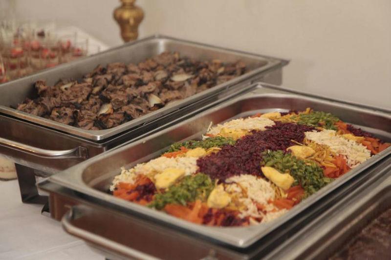 Beispiel: Großes Angebot, Foto: Golden Catering.