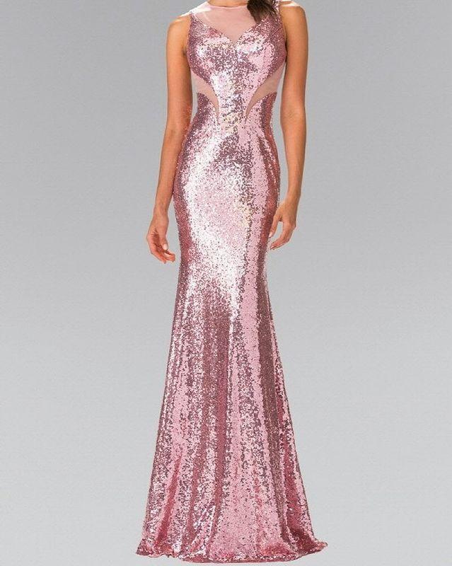 Púrpura Vestidos