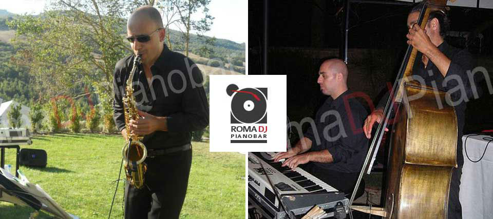 Intrattenimenti musicali per eventi e ricevimenti di matrimonio Romadjpianobar info@romadjpianobar.com http://www.romadjpianobar.com Musica dal vivo - Gruppi Musicali - Jazz Band