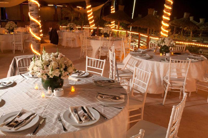Montaje elegante y distintivo para tu boda - Foto Weddings Riviera Maya