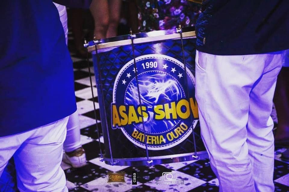 Bateria Asas Show