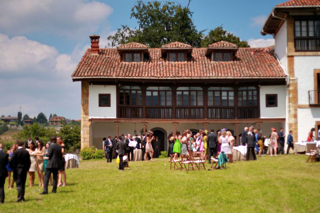 Palacio de Santa Cruz (lugar para los aperitivos)