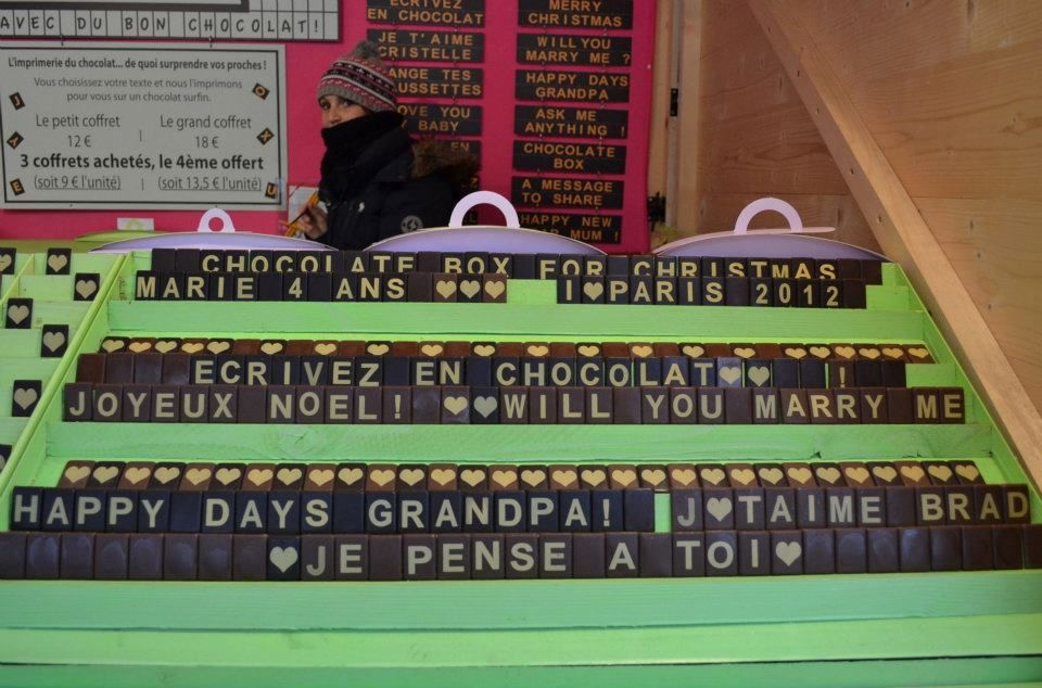 L'imprimerie du chocolat