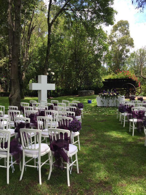 Ceremonia Civil en jardín Carreta
