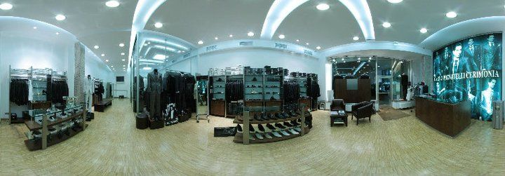 Beispiel: Herrenabteilung im Ladengeschäft, Foto: Balayi Magazasi.