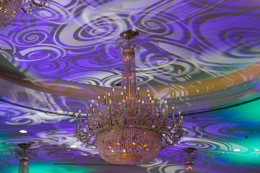 Salón Albéniz Iluminación Especial
